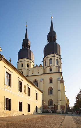Church of St. Nicolas in Trnava. Slovakia Stock Photo