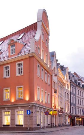 riga: Old Riga. Latvia