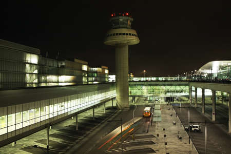 lockout: Airport in Barcelona. Spain Editorial