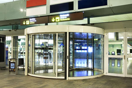 new entry: Airport in Barcelona. Spain Editorial