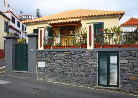 Vue de Lvramento. Funchal. île de Madère. le Portugal