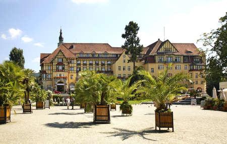 Polonia: Sanatorium Polonia in Kudowa-Zdroj. Poland