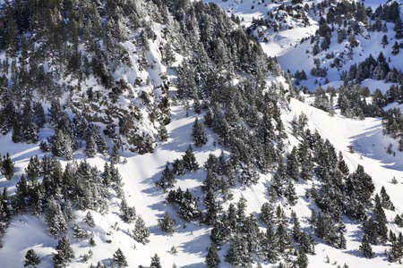 principality: Pyrenees near Encamp. Principality of Andorra Stock Photo