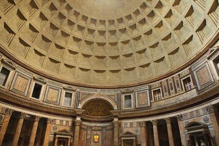 pantheon: Pantheon in Rome. Italy Editorial