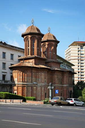 Kretzulescu church in Bucharest. Romania