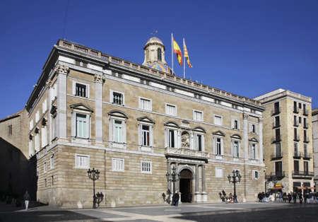 Generalitat de Catalunya in Barcelona. Spain