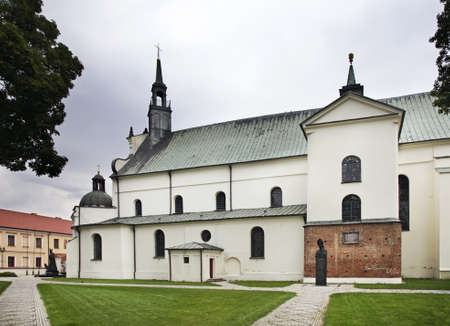 annunciation of mary: Collegiate Basilica of Annunciation of Blessed Virgin Mary in Pultusk. Poland