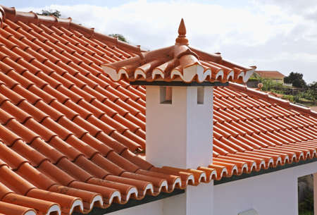 Fragment of roof in Lvramento. Funchal. Madeira island. Portugal