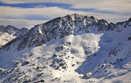 Pyrenees near Encamp. Andorra Stock Photo