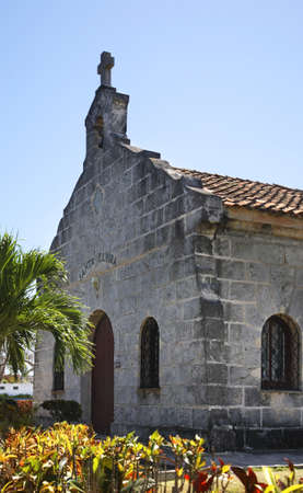 varadero: Saint Elvira church in Varadero. Cuba