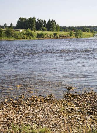 onega: Onega river near Kargopol. Russia
