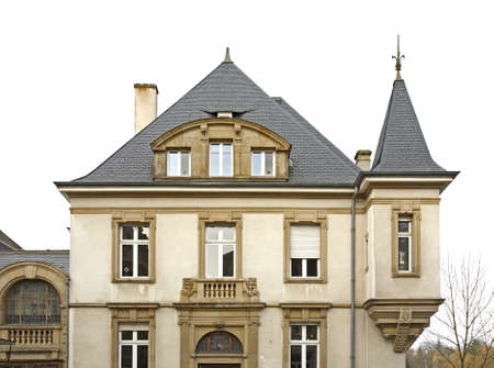 fragment: Fragment of building Luxembourg city