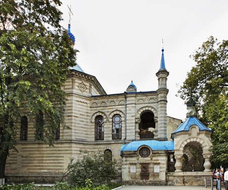 Church of St. Teodora de la Sihla in Kishinev. Moldova