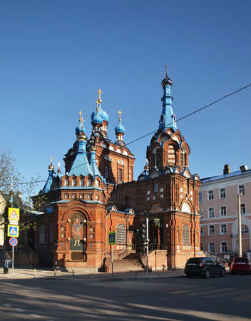 krasnodar: Church of St. George in Krasnodar. Russia Stock Photo