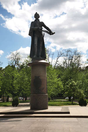 Monument to Alexander Suvorov in Krasnodar. Russia