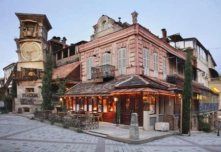 marionette: Marionette theatre in Tbilisi. Georgia Editorial