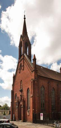 st  joseph: Church of St. Joseph in Koszalin. Poland Stock Photo