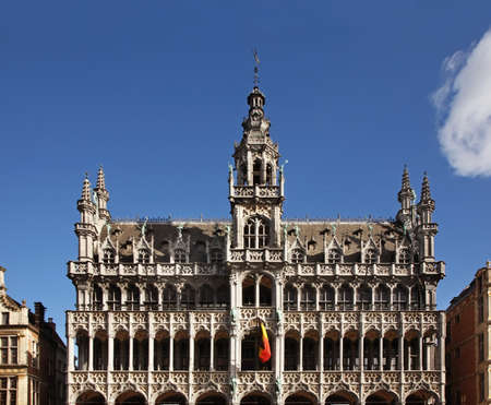 King House (Breadhouse) on Grand Place in Brussels. Belgium