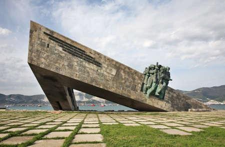 Malaya Zemlya - Minor Land in Novorossiysk. Krasnodar region. Russia Editorial