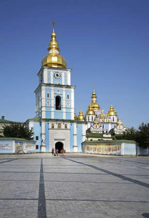 Golden-Domed Monastery of St. Michael in Kiev. Ukraine