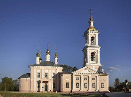 Church of Ascension in Kimry. Tver Oblast. Russia Stock Photo