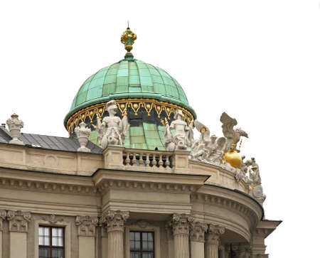 St. Michaels Wing of Hofburg Palace in Vienna. Austria