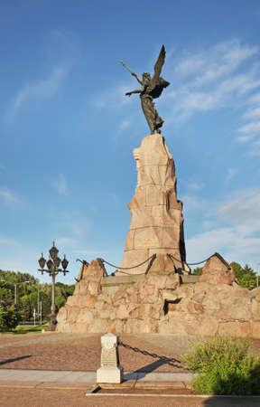 Russalka Memorial in Tallinn. Estonia