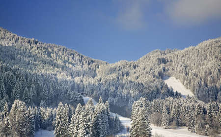 Landscape near Oberammergau. Bavaria, Germany Stock Photo