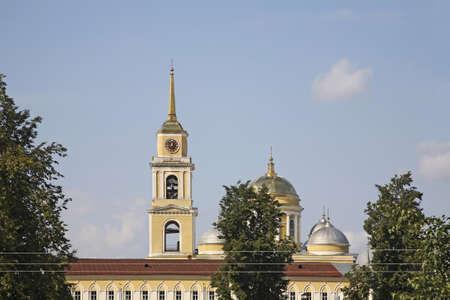 Nilov Monastery at Stolobny Island near Ostashkov. Tver oblast. Russia