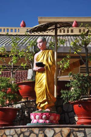 Tinh xa ngoc bich monastery in Vung Tau. Vietnam