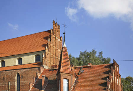 Church of Peter and Paul in Chelmno. Poland