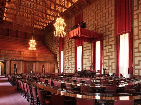 Radsalen of Stockholm City Hall. Sweden Editorial