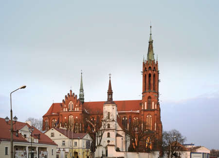 Cathedral of the Assumption of the Virgin Virgin Mary in Bialystok. Poland Stock Photo