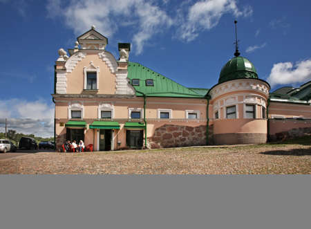 retailers: House of Verkut at Townhouse square in Vyborg. Russia