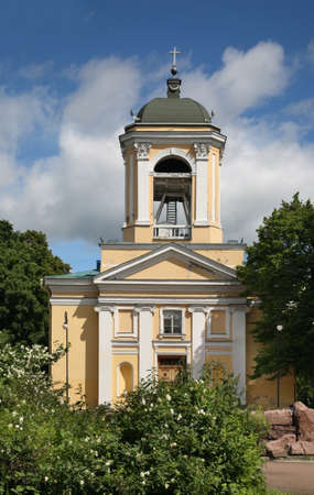 Cathedral of St. Peter and Paul in Vyborg. Russia Stock Photo