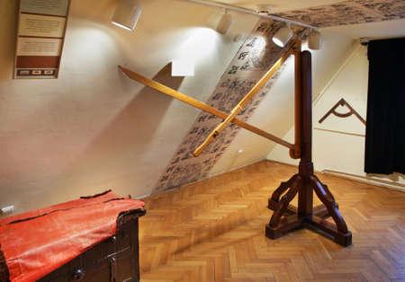 Museo de Nicolaus Copernicus en Torun. Polonia