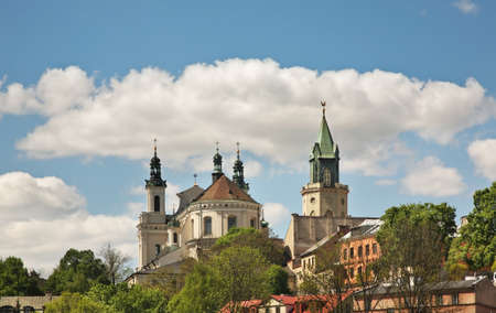 Panoramic view of Lublin. Poland