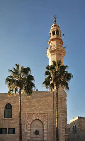 Mosque of Omar in Bethlehem. Palestinian territories. Israel