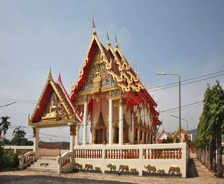 Wat Naka or Wat Nakaram in Phuket town. Phuket province. Thailand