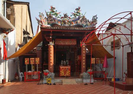 Sang Tham Shrine in Phuket town. Phuket province. Thailand