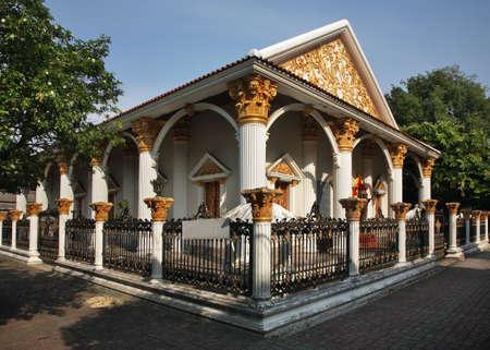 Wat Khachon Rangsan in Phuket town. Phuket province. Thailand Stock fotó