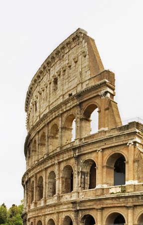 Colosseum  (Coliseum) - Flavian Amphitheatre in Rome. Italy