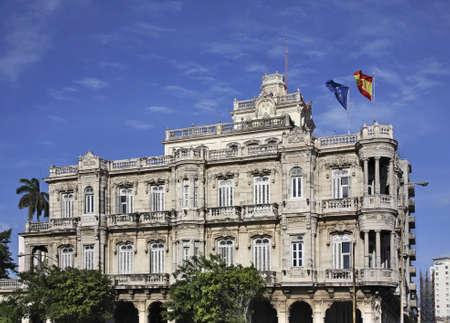 Embassy of Spain in Havana. Cuba