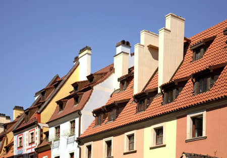 Fragment of old building in Wroclaw. Poland