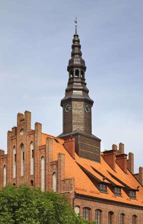 City hall  in Morag. Poland