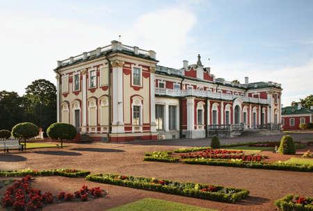 Kadriorg Palace in Tallinn. Estonia Редакционное