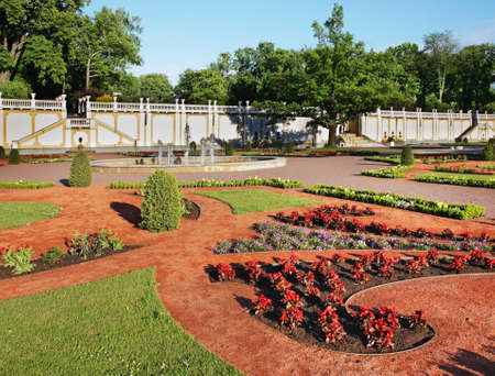 Park of Kadriorg Palace in Tallinn. Estonia