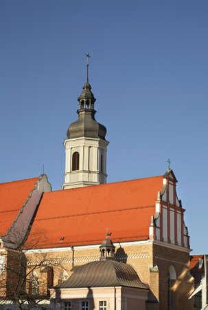 Church of Holy Trinity in Opole. Poland