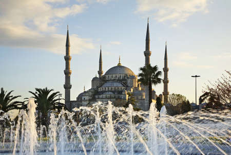 Sultan Ahmed Mosque (Blue mosque) in Istanbul. Turkey