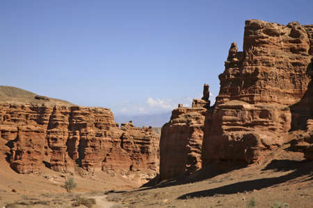 National Park Sharyn Canyon (Valley of castles). Kazakhstan